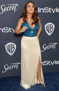 Salma, Hayek, Attends, The, 21st, Annual, Warner, Bros, And