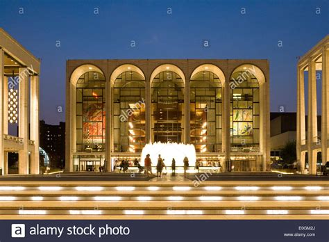 Metropolitan Opera House At Lincoln Center For The