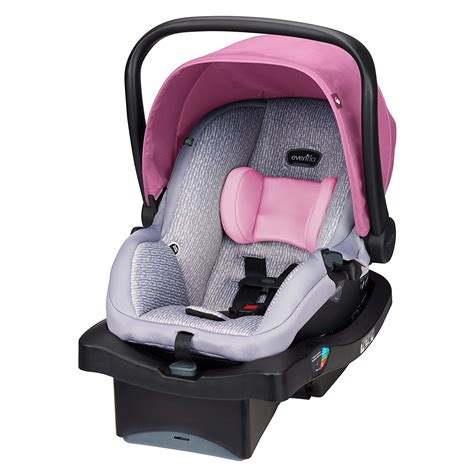 infant car seat carrier baby girl pink safety carseat