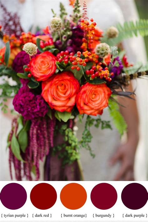 color inspiration wine red color palette wedding ideas