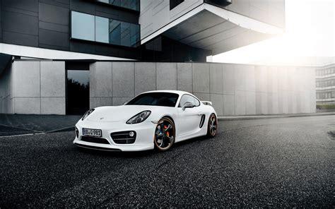 2014 Porsche Cayman By Techart Wallpaper