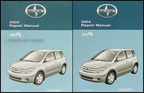 best car repair manuals 2004 scion xa electronic valve timing 2004 scion xa wiring diagram manual original