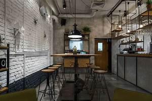 Industrial Style Shop : furniture cafe with modern industrial style current trend ~ Frokenaadalensverden.com Haus und Dekorationen