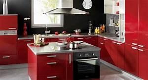 ilot centrale cuisine cuisine avec ilot tendance ilot With cuisine ilot central cuisson