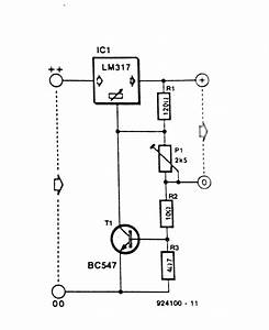 Current Limitor For Lm317 Regulator