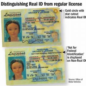 State begins is... Real Id