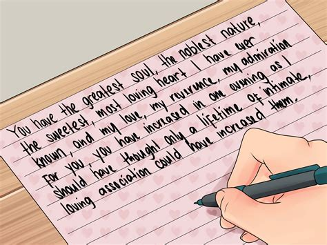 letters to the i loved how to start a letter with exles wikihow