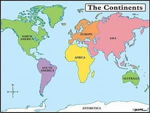 ENGLISH KIDS FUN: The continents
