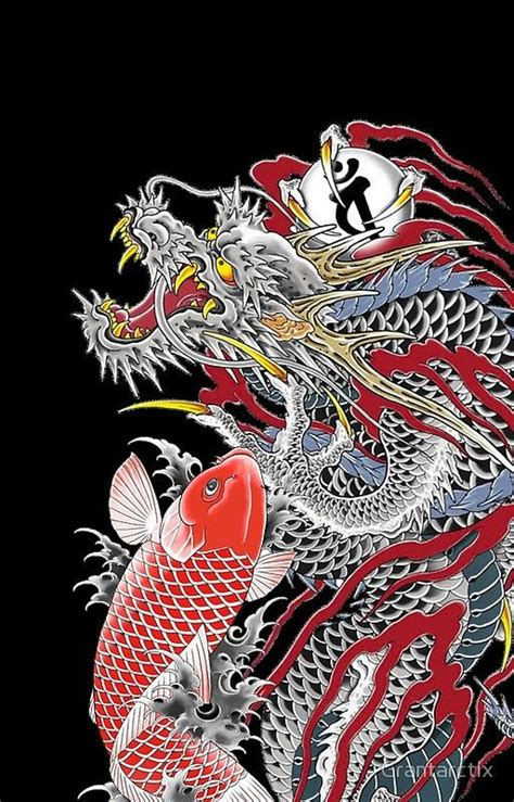 dragon  koi yakuza dragon tattoo   japanese dragon tattoos dragon tattoo drawing