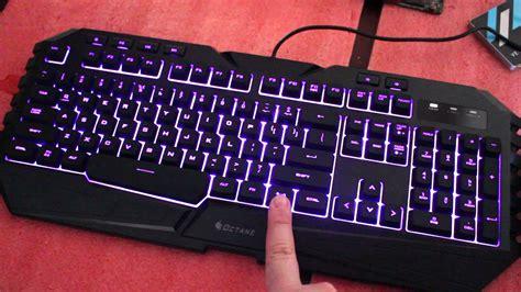keyboard colors coolermaster octane keyboard colors