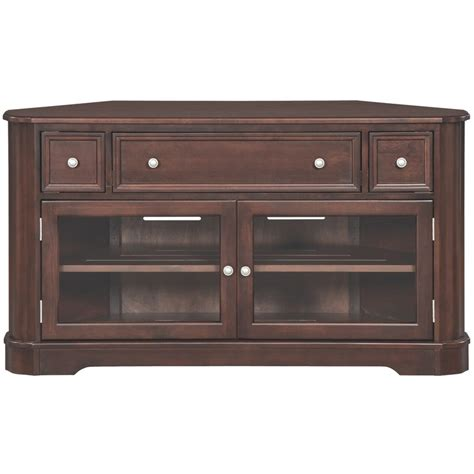 whittier wood mckenzie corner media console  shipping