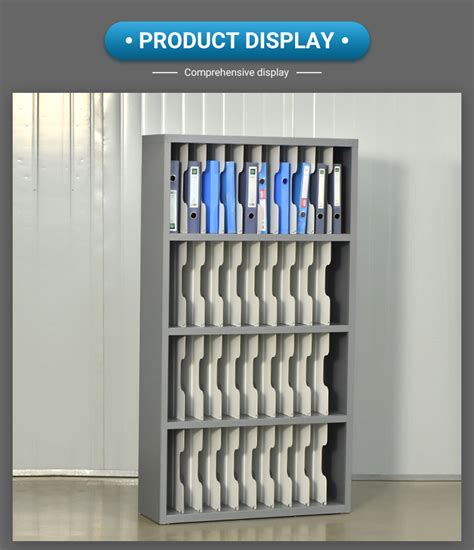 office financial account shelves cabinet open book storage cabinet  file rack multi layer