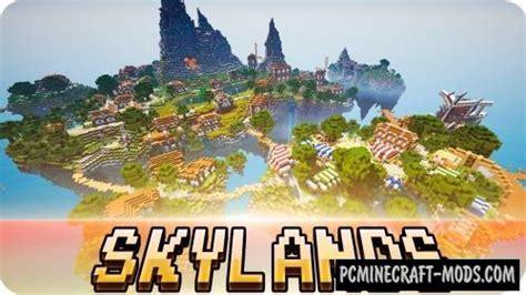 skylands map  minecraft   pc java mods