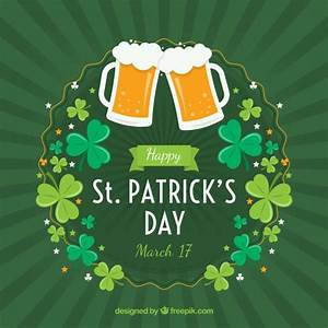 St. patrick's day background Vector   Free Download