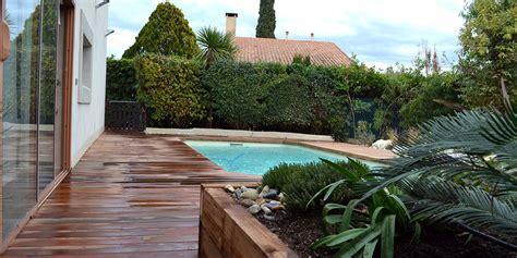 bureau à la maison aménagement aménagement extérieur d 39 une piscine marseille