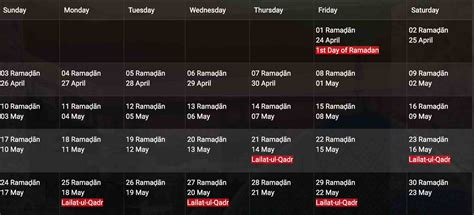 ramadan dubai start april