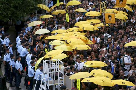 Hope struggles to unfold as HK commemorates Umbrella Movement   ABS-CBN News