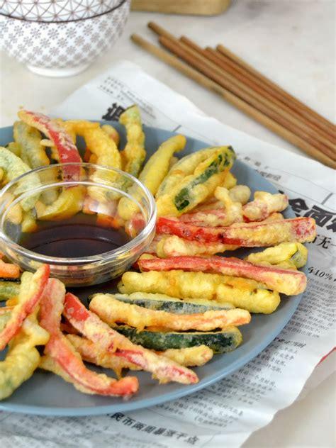 Tempura de verduras. Receta japonesa - Juanan Sempere
