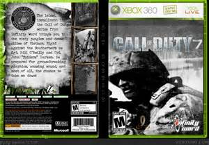Call of Duty Xbox 360 Cover