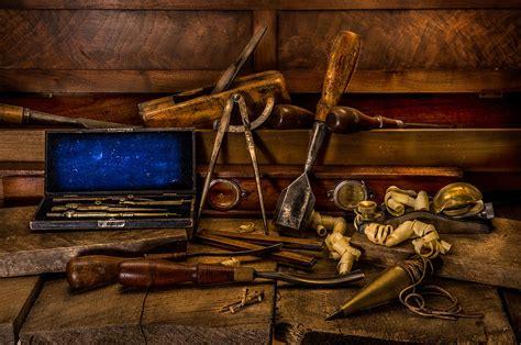antique woodworking tools photograph  paul freidlund