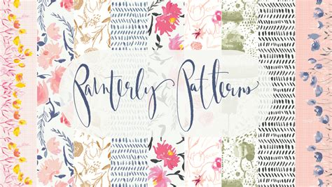 watercolor  surface pattern design working  adobe