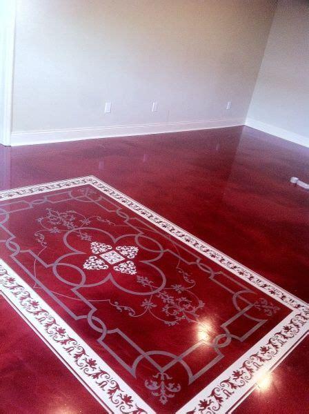 custom rug  mettalic epoxy floor foxcrete marvelous