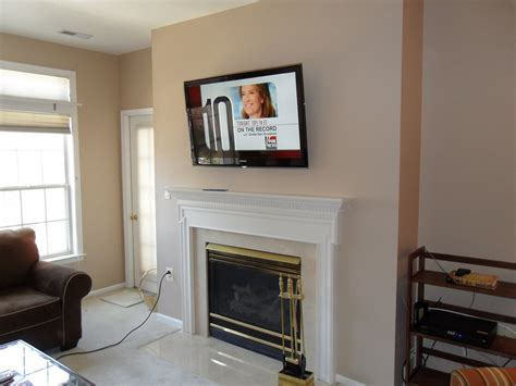 Wall Mounted Tv And Fireplace Euffslemanicom