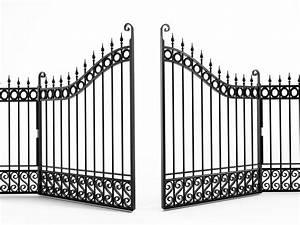 renover un portail en bois stunning bois pourri with With peindre une grille en fer