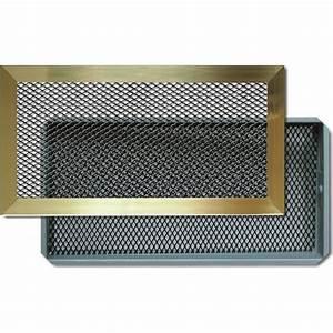 Grille De Decendrage Pour Insert : grilles d 39 a ration chemin e avec cadre laiton autogyre ~ Dailycaller-alerts.com Idées de Décoration