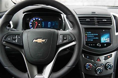 chevy trax interior the 2015 chevy trax review family focus