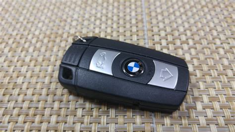 change replace smart key fob battery bmw