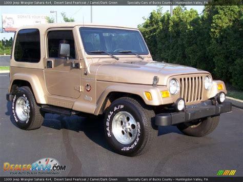 desert jeep wrangler 1999 jeep wrangler sahara 4x4 desert sand pearlcoat