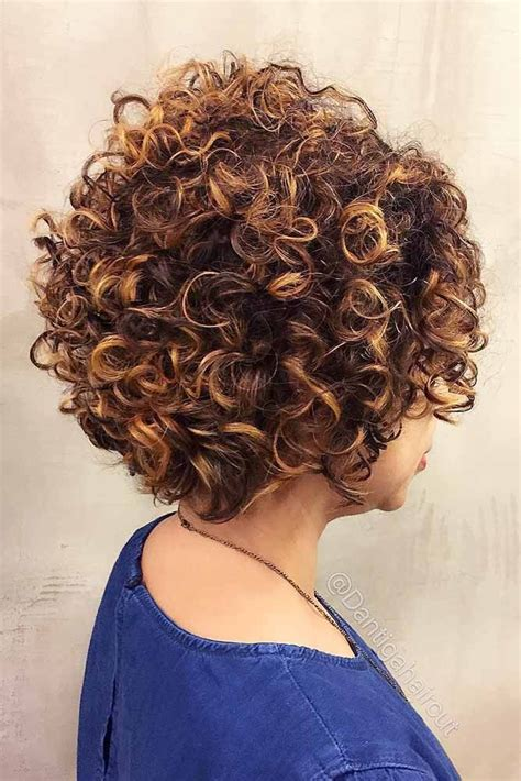 45 Fancy Ideas To Style Short Curly Hair Short curly