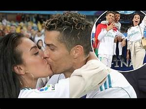 Cristiano Ronaldo Gets A Kiss From Stunning Girlfriend