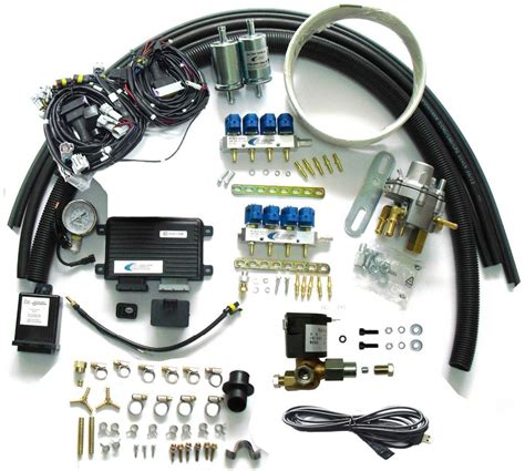 aliexpress buy methane cng sequential injection system conversion kits for 8 cylinder efi