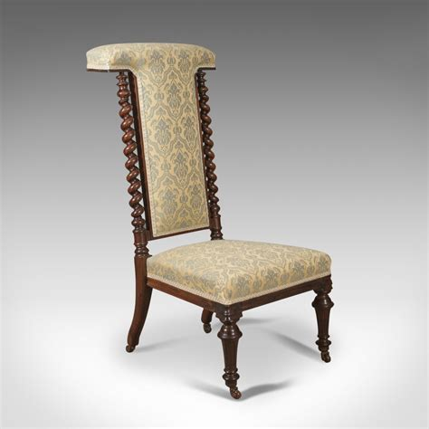 antique side chairs for antique chair 19th century prie dieu in 7488