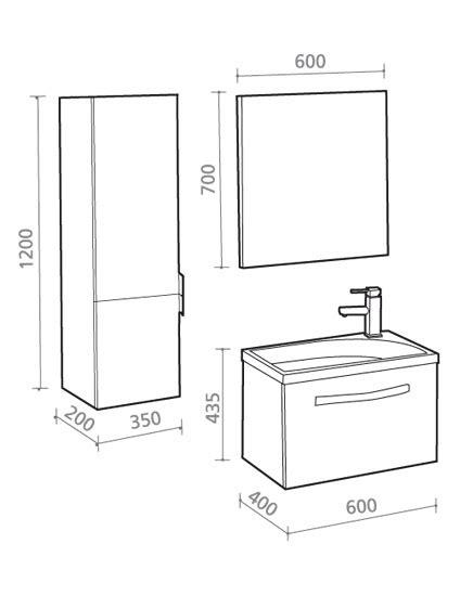 Badezimmermöbel Maße by Ma 223 E Badezimmer Elvenbridecom