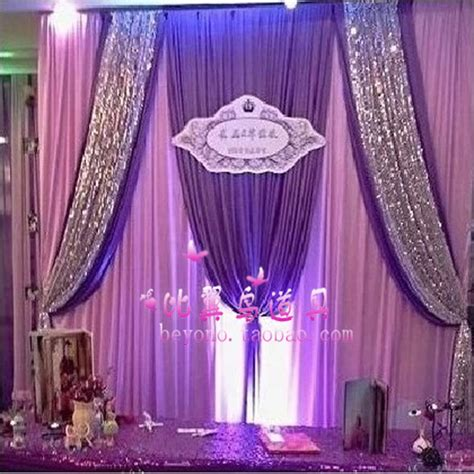 express free shipping 3mx3m customized color wedding
