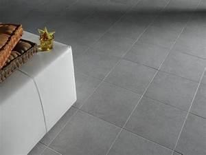 carrelage gris clair 30 x 30 With carrelage adhesif salle de bain avec tele au led