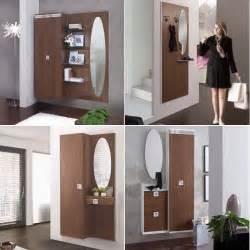 Mobili ingresso in legno noce una scelta calda e