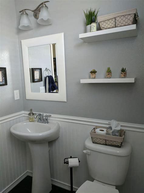 simple diy bathroom remodel    denver