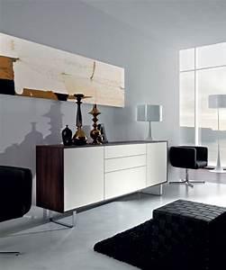 Meuble Salon Design Meuble Tv Suspendu Bois Maisonjoffrois