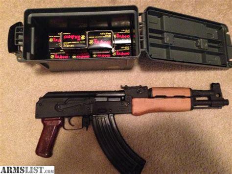 Ak-47 Pistol With Ammo
