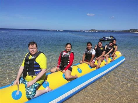 Banana Boat Ride In Batangas by Banana Boat Ride Picture Of Cove Hotel Spa