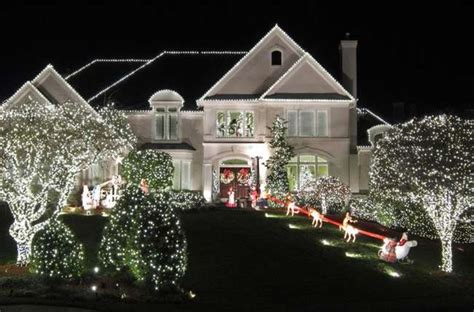 mesmerizing outdoor christmas lighting ideas