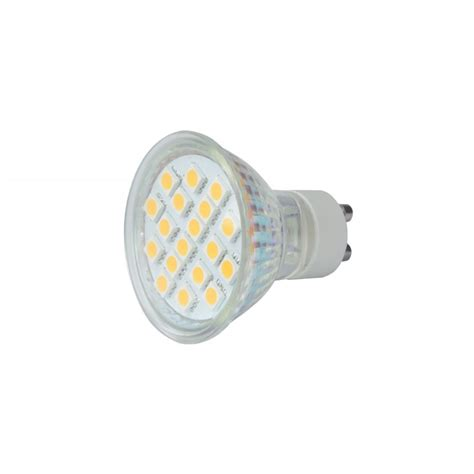 gu10 18 led l warm white 3000k from rimmers