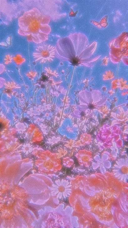 Aesthetic 90s Background Wallpapers Field Flower Desktop