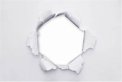 Paper Hole Transparent Photoshop Ripped Background Cutting