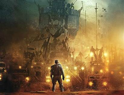 Mad Max Road Wallpapers Warrior Fury Action