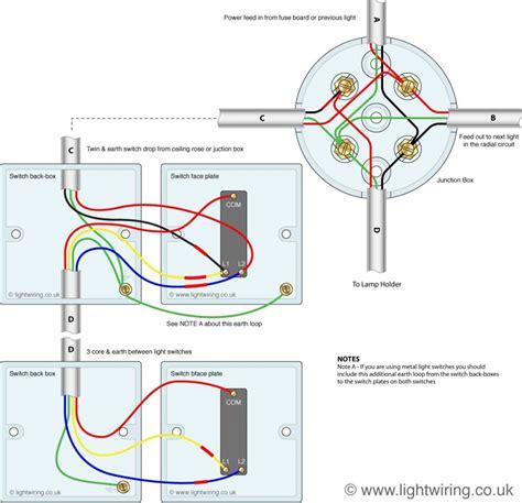 2 way switch wiring diagram light wiring